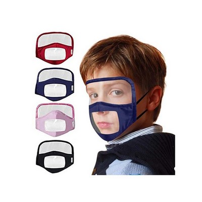 Kids Visible Face Mask with Face Shield