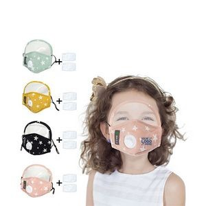 Kid Face Mask With Eye Shield and Filter